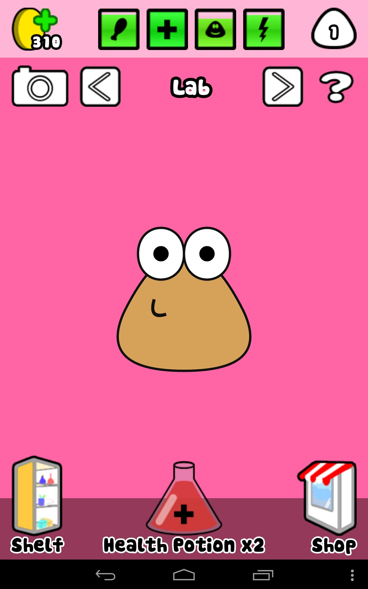 Pou — Sweet and hilarious pocket pet game