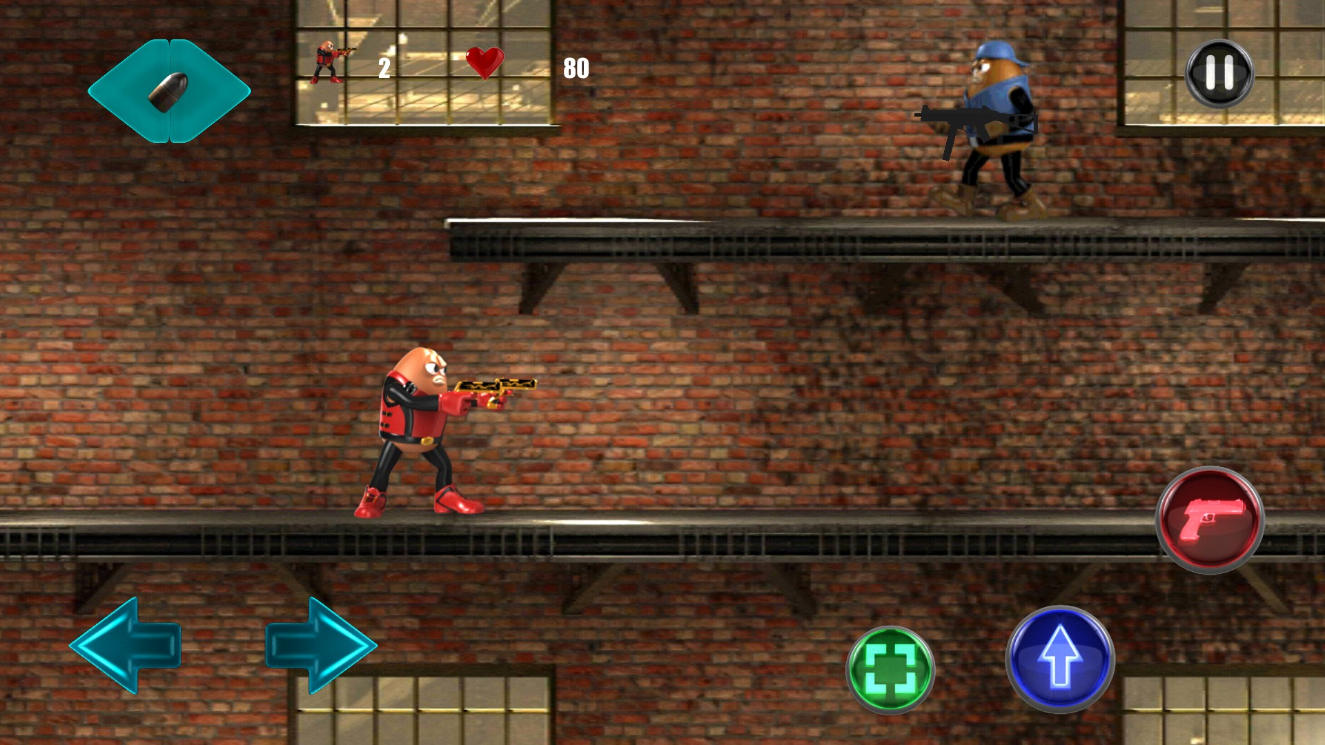 Killer Bean Unleashed — Storming action with endless shooting
