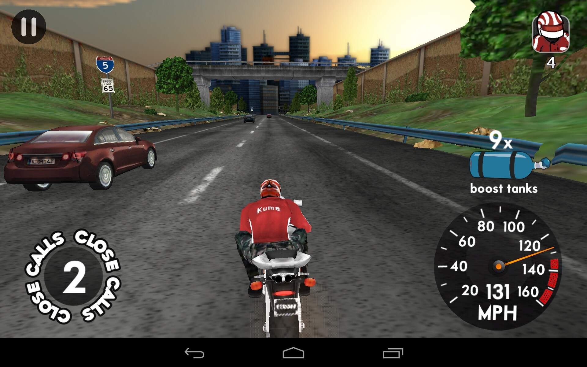 highway rider android game download