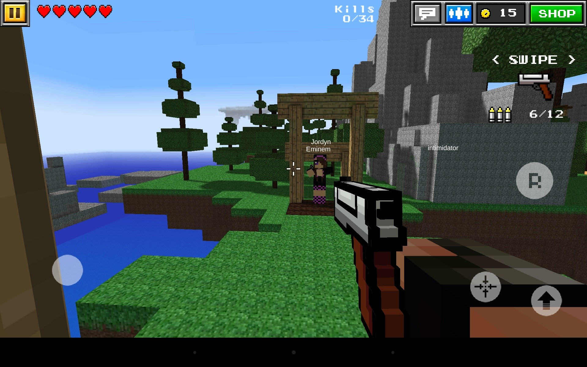 minecraft 3d online game