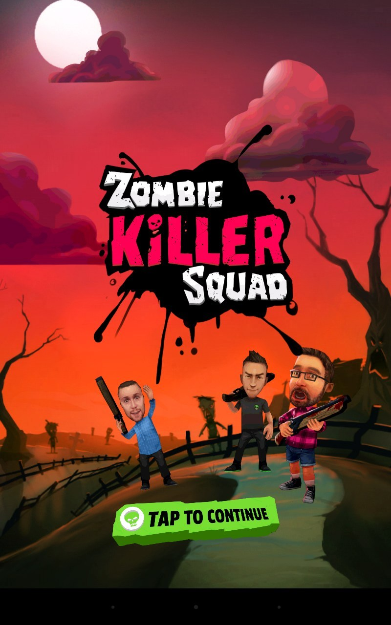 Zombie Killer Squad — Run away from a pack of zombies