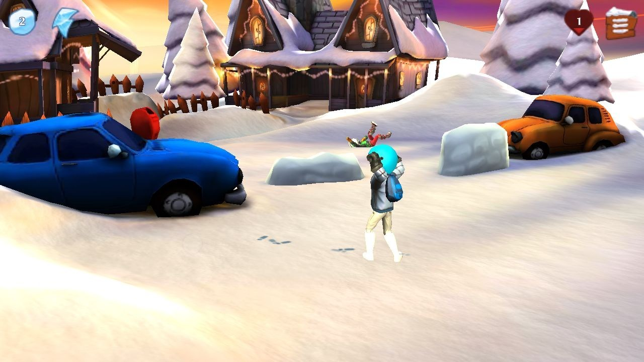 Fun Run Crush - Snowdown Clash — Juego de bolas de nieve en 3D