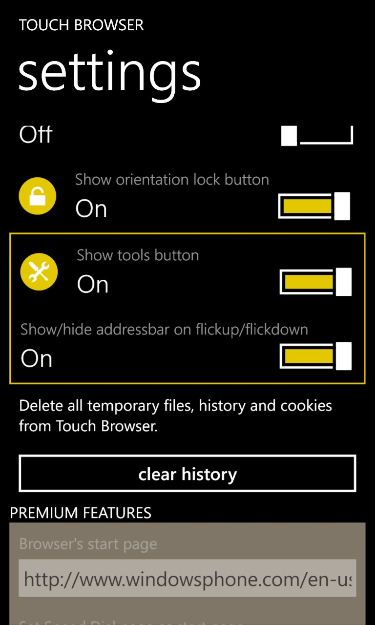 UC Browser for Windows Phone and windows 10