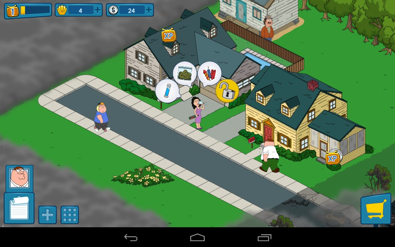 free family guy games for android