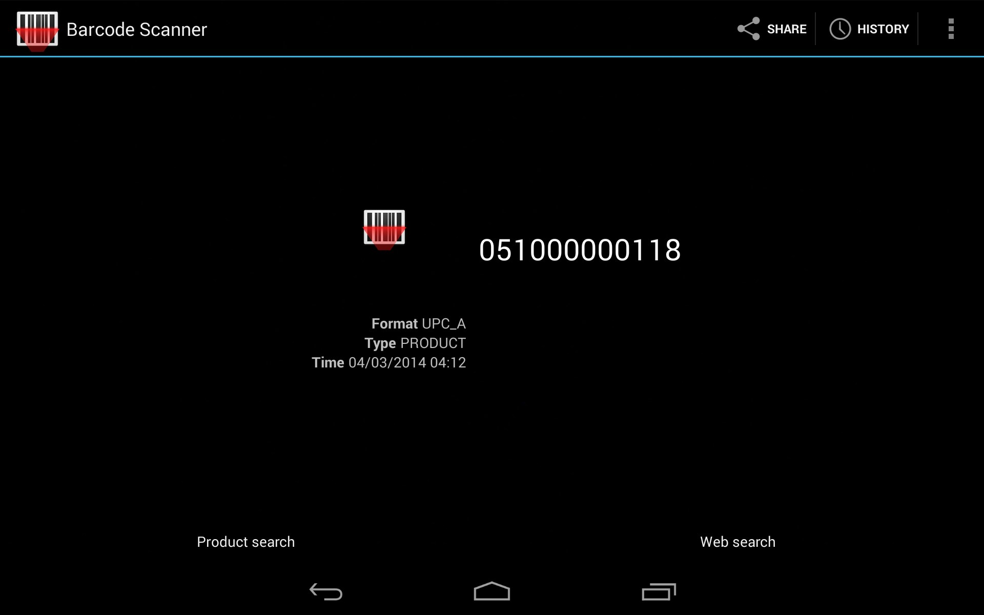 Barcode Scanner for Samsung Galaxy Note 3