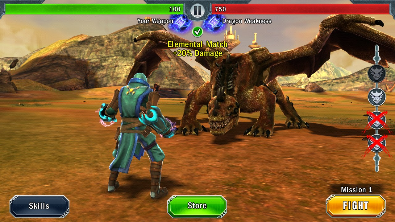 Dragon Slayer — Exciting 3D action from Glu Mobile